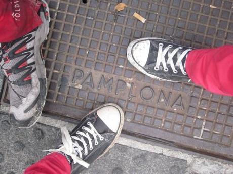 Nuestras huellas en Pamplona