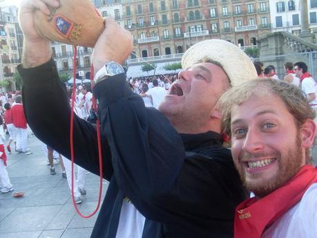 Personajes graciosos (y borrachos) de San Fermín