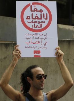 Detenidos por homosexuales dos hombres en Líbano