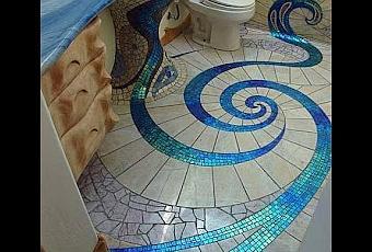 Ba o decorado con mosaicos paperblog - Banos decorados con mosaicos ...