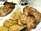 Muslos pollo horno