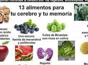 Alimentos para cerebro memoria