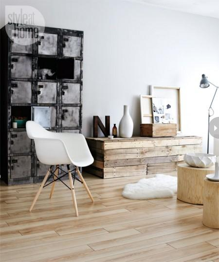 Small Apartment Design With Scandinavian Style That Looks: Estilo Nórdico Low Cost