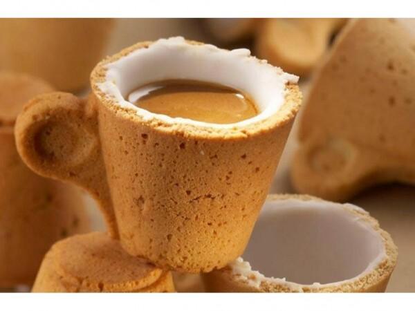 The cookie cup la taza de caf que se come paperblog for Tazas cafeteria