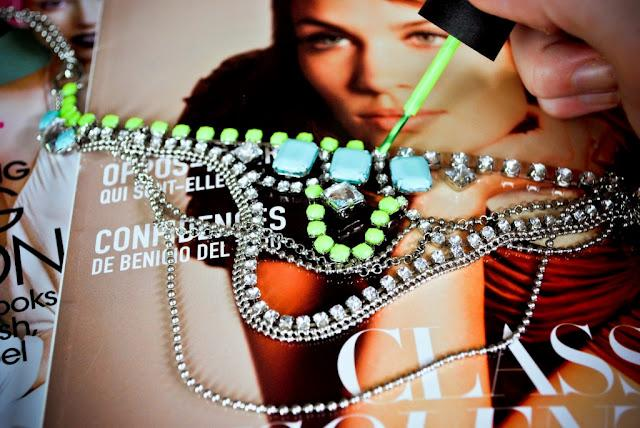 DIY: collares barrocos