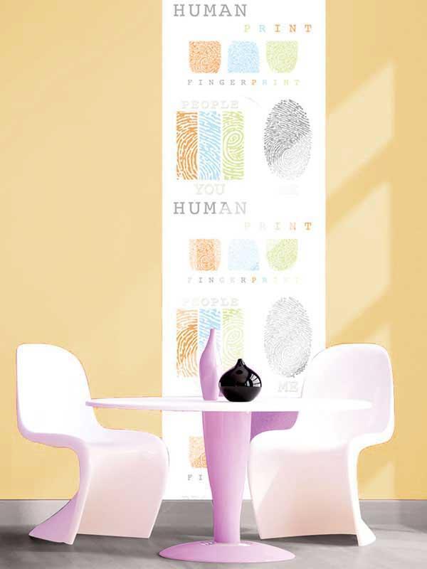 Combinar colores con el papel pintado paperblog - Combinar papel pintado y pintura ...