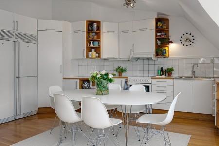 Ático con salón – cocina – comedor diáfanos? me lo pido!!! - Paperblog
