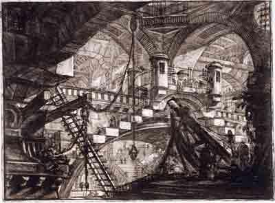 'Carcere' Carceri d´Invenzione 1761. Firmin Didot 360, calcografía.
