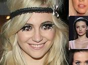celebrities apuntan pestañas postizas