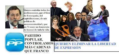 El Gobierno del PP quiere eliminar los medios críticos y apunta a La Sexta