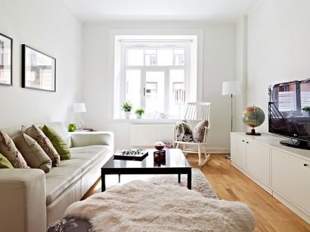 Un piso peque o en colores neutros paperblog for Ikea amueblar piso pequeno