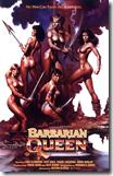 Cartel de la película de fantasía erótico-épica americano-argentina, «Barbarian Queen»