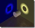 Representación de la superposición de estados en la mecánica cuántica