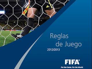 REGLAMENTO DE FÚTBOL FIFA 2012/2013 Y MODIFICACIONES