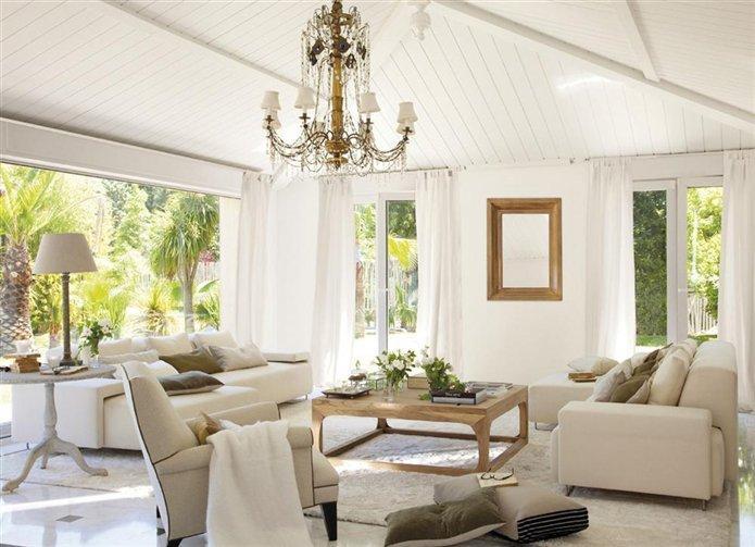 Salones llenos de encanto salons full of charm paperblog for Casa y jardin revista de decoracion