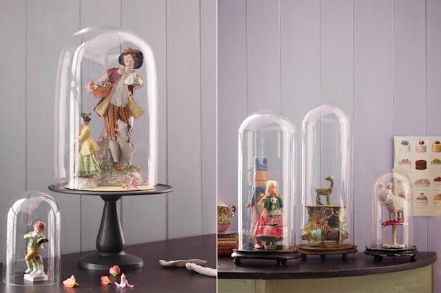 Inspiracion express campanas de cristal paperblog - Campana de cristal ikea ...