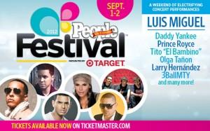 Festival People En Español – San Antonio, Texas. Sept 1 y 2