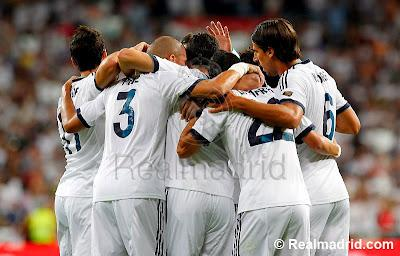 Pics: Real Madrid Campeon De La Supercopa De España 2012