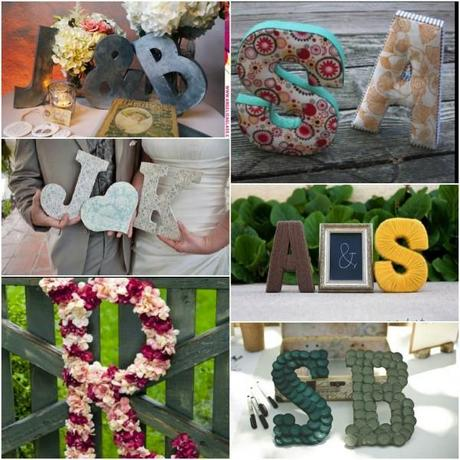 Wedding letters (Initials)