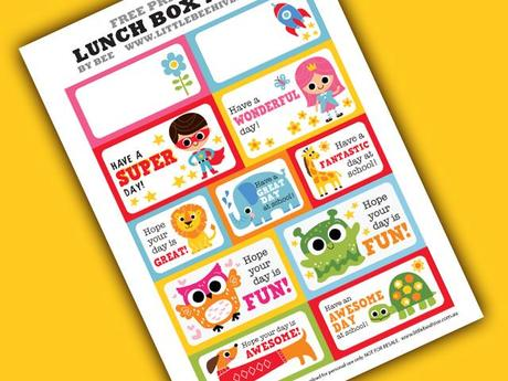 Back to school! Lunch notes