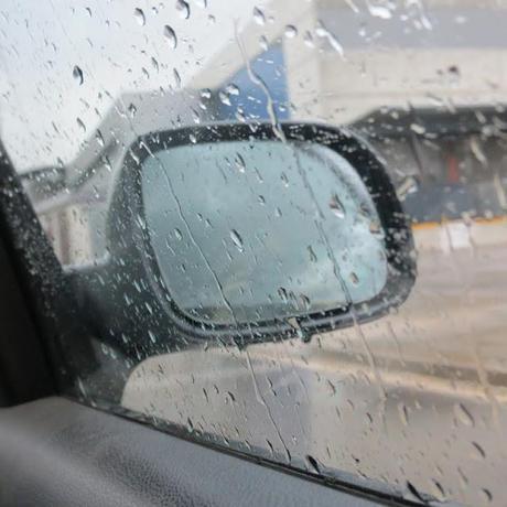 El primer día de lluvia del verano