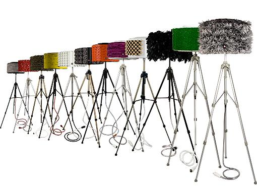 lamparas pie rewashlamp1 Lámparas de Diseño Recicladas