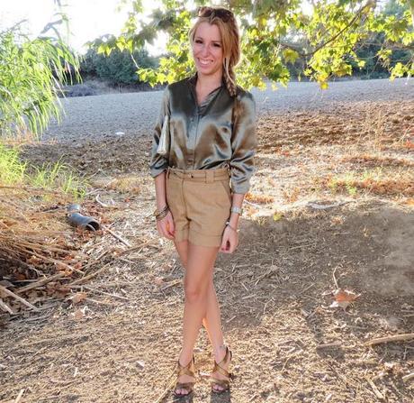 Safari Girl (Tailor4less Shirt)