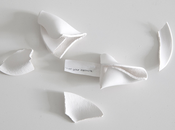 Porcelain Fortune cookies