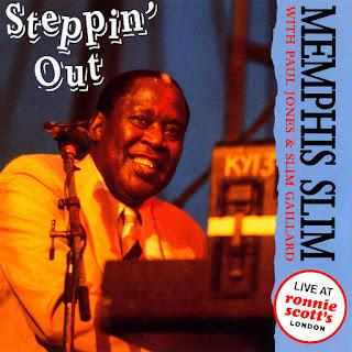 MEMPHIS SLIM  - STEPPIN' OUT   (1993)