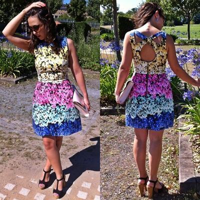Remix de vestidos de flores