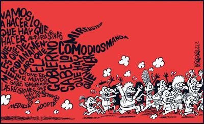 Buendiario- Maifestación internacional contra las políticas de la Troika