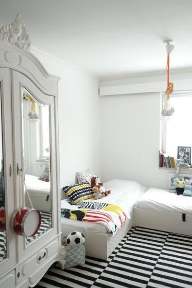 Inspiracion exterior: dormitorios infantiles compartidos   paperblog