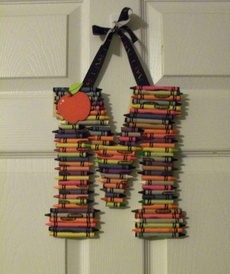 Diy Decoracion De Habitaciones ~ Decorativas letras DIY para decorar la vuelta al cole  Paperblog