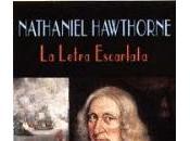 letra escarlata. Nathaniel Hawthorne