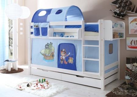 La habitaci n infantil ideas y soluciones paperblog - Caballeros y princesas literas ...