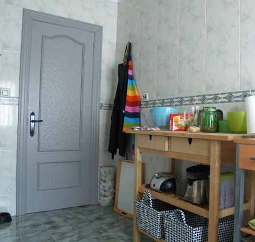 La reforma sin obra de mi cocina un antes y despu s paperblog - Renovar cocina vieja ...