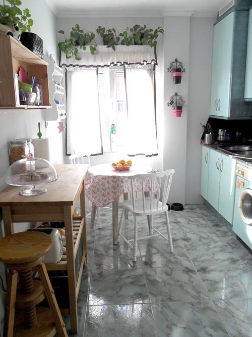 La reforma sin obra de mi cocina un antes y despu s - Reformas de cocinas sin obras ...