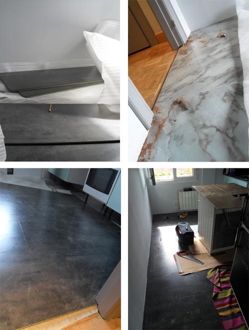 La reforma sin obra de mi cocina. un antes y después   paperblog