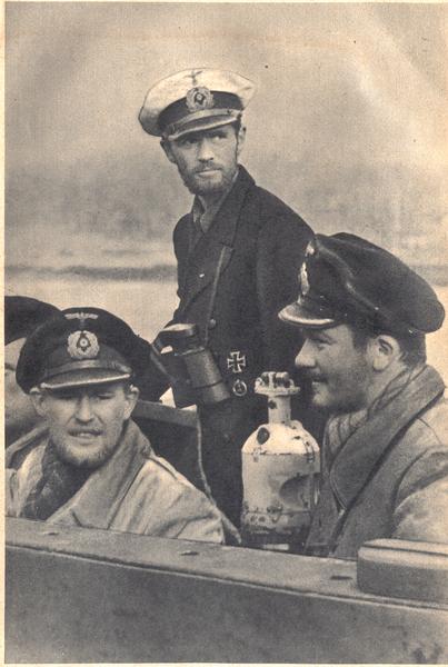 La rendicion del submarino Nazi U530 en Mar del Plata