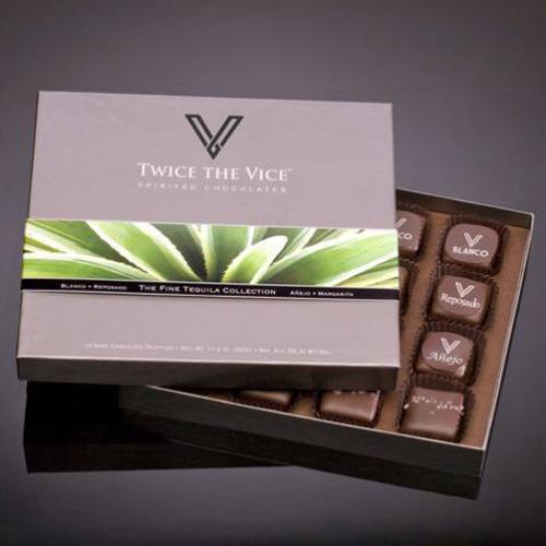 Twice the Vice: Chocolates con tequila o whisky de alta gama