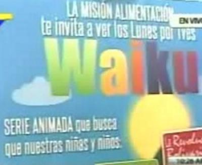 Serie animada  Venezolana Waiku creará conciencia alimentaria y nutricional en la población infantil venezolana