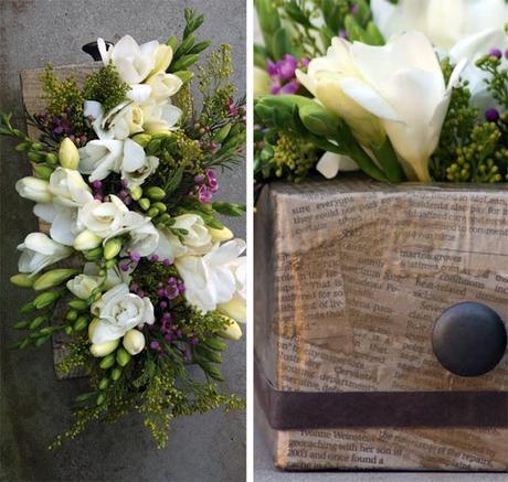 Diy: De caja de pañuelos de papel a centro de flores