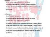 Cartel, programa invitados XVII Jornadas Cómic Avilés