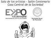 """Exposición trabajos presentación libro """"Masque Tibta"""" humor cosa seria, Expo Rural Tucumán 2012."""