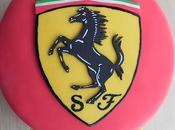 Tarta cumpleaños Ferrari!
