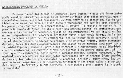11 de septiembre de 1973 en chile: