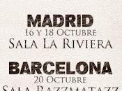 Amaral, conciertos madrid barcelona