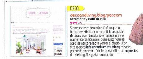 Deco & Living, hallazgo de la revista Cuore. Guauuu!