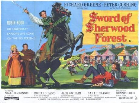 Aventuras al por menor: La espada del bosque de Sherwood, un Terence Fisher para completistas.