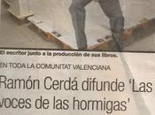 Ramón Cerdá difunde VOCES HORMIGAS
